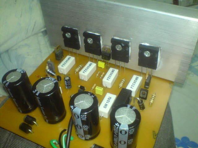 500w 250w Hi Fi Transist 246 Rl 252 Anfi Devreleri Elektronik