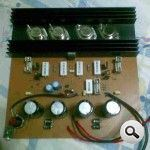 amp 500w power amplifier bjt