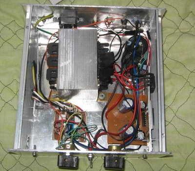 100W Hi Fi Mosfet Amplifier Circuit amfi modifiye