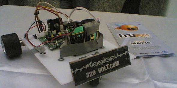 PIC16F628A Line following robot project cizgi izleyen robot devresi robot yarismasi