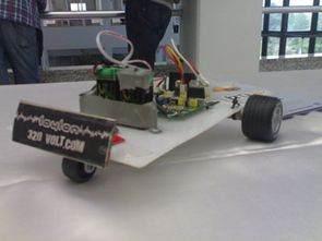 PIC16F628A ile Çizgi izleyen Robot -Laylon-