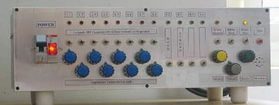 PIC16F84A Light Effects Circuits console lights