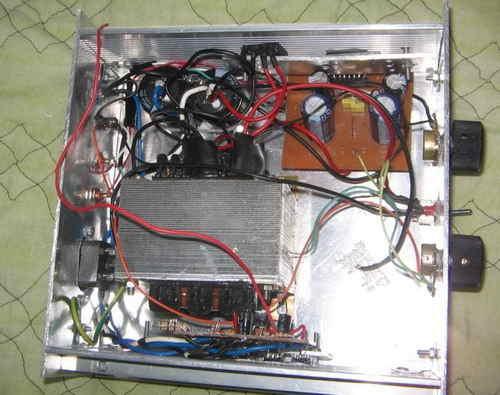 100W Hi Fi Mosfet Amplifier Circuit devreler kasada