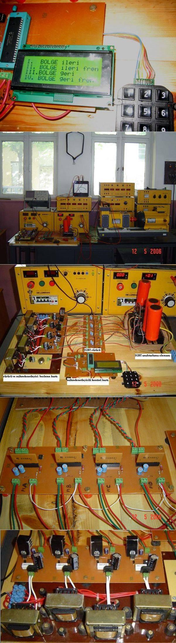SSC-đúng-dòng chảy tốc độ động cơ tốc độ điều khiển động cơ điều khiển-IGBT pic18f4520