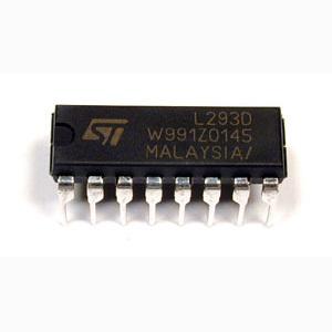 AT89C51 L293D DC Motor with Door Control Circuit l293d