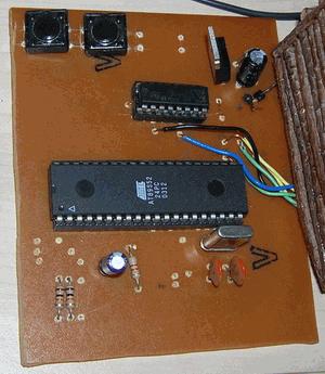 AT89C51 L293D DC Motor with Door Control Circuit maket ev proje 3
