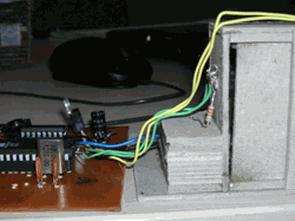 AT89C51RD2 ve L293D DC Motor İle Kapı Kontrolü