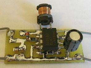 MC34063 ile 50 volt 120ma DCDC Konvertör