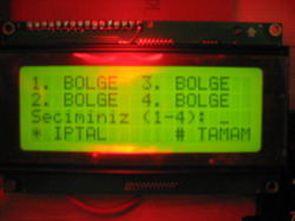 PIC18F4520 ile DC Motorunun Dört Bölge Kontrolü