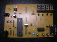 Microchip PIC16F, PIC18F Development Boards  pic deneme1