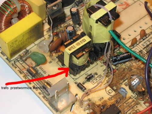 Inverter for 12V Strobe Circuit stroboskop ee16 nuve
