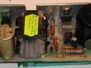 UC3842 EI33 Atx Trafo 12 Volt 5 Amper Flyback Smps