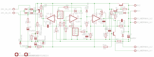 0 2A 0 30V  Regulated Power Supply  Circuit eagle schematic regulated power supply ayarli guc kaynagi laboratory power supplies
