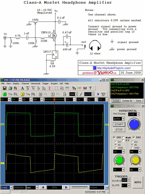 irf610-amplifier-schematic-diy-class-a-mosfet-headphone-amplifier