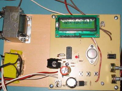 PIC16F84 ile Elektronik Kas Uyarım Cihazı Tens Circuit
