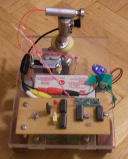 PIC16F628-robo-RF-điều khiển từ xa-camera-công cụ