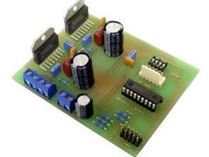 PIC16F628 ve LMD18245 ile Micro Step Kontrol
