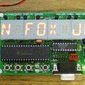 PIC16F874P ile Alfanümerik 15 Segment LED Display Sürücü