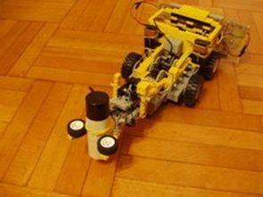 PIC16F877 ile 2 Adet Robot Projesi Lego Robot Engel Robotu