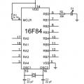 PIC16F84 ile LED Yakıp Söndürme