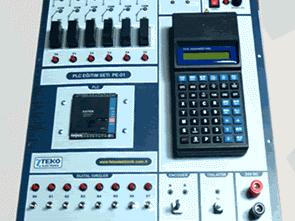 PE-01 PLC Eğitim Seti ile Çalışmalar