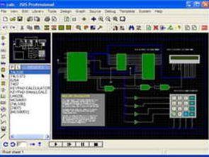 isis devre çizimi ve simülasyonu Ares ile pcb çizimi