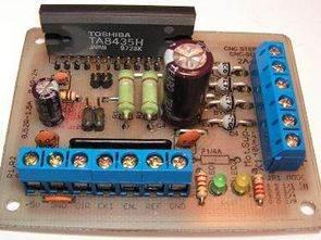 TA8435 ile Bipolar Step Motor Sürücü Devresi