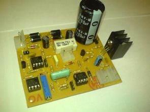 0 30V 0 002-2A Opamp ve Transistörlü Güç Kaynağı