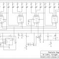 CD4015 LM555 ile 16 Ledli Yürüyen Işık Devresi