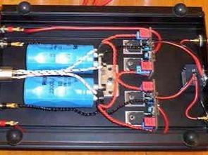 30W Class AB Mosfet Amplifikatör