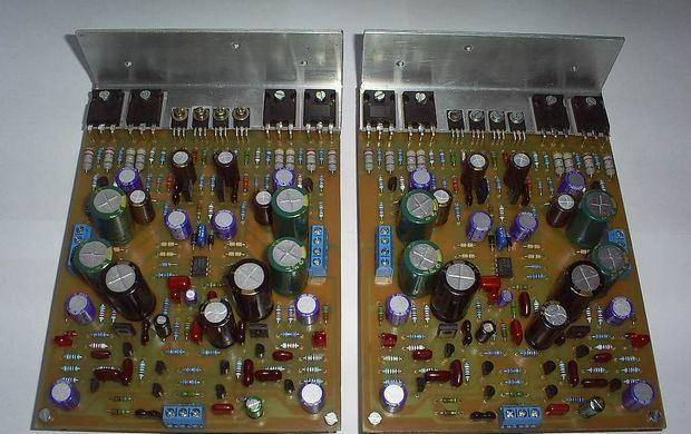 40W-xoang-ra-MOSFET khuếch đại-BJT-MOSFET khuếch đại mạch