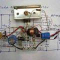 IRF9530 Mosfet ile 5 Volt 3 Amper Switching Regülatör