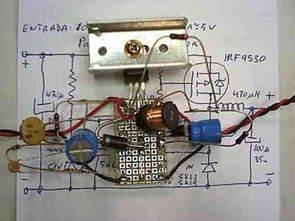 Bộ chuyển đổi Ampe 5 Volt 3 Amper với IRF9530 Mosfet