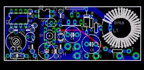 LM2576-dcdc-pcb
