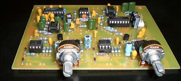 Vocoder Circuit Change the Sound