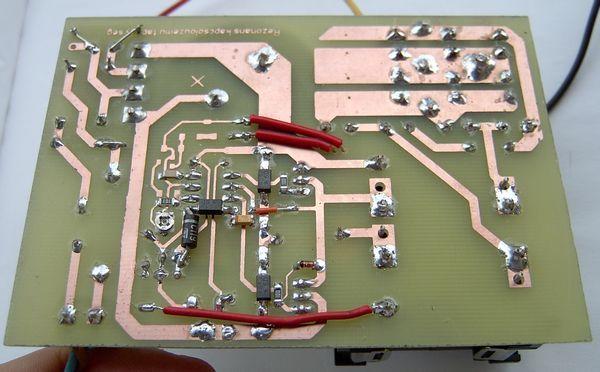 Symmetric Output Audio Amp SMPS Circuit with IR2153 ETD34 alulrol etd34 ir2153 smps