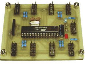 Cảm biến tiếp cận cảm biến hồng ngoại với Atmel ATMega8-16PI
