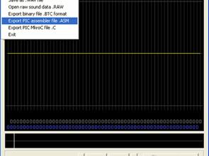Dịch các tệp Wav thành mã ASM và C