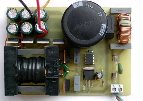 Etd34 Ve Ir2153 Ile Simetrik Cikisli Smps on voltage source circuit diagram