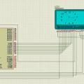 AT89C51 Analog Saatin Grafik Lcd ile Gösterilmesi
