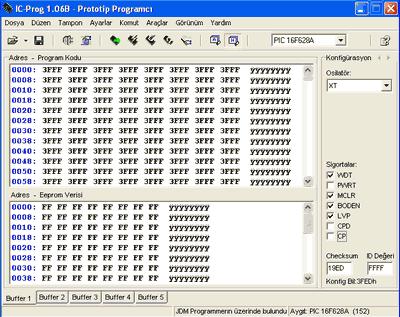 Programlayıcılar için IC-Prog Kurulumu Kullanımı