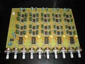 MC14053 NE570N RC4558 TL072 ile Vocoder Devresi