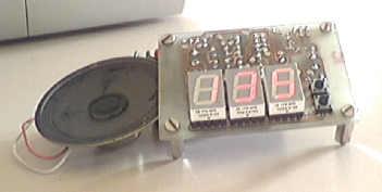 PIC 16F84 ile Sesli Display Göstergeli Metronom