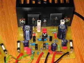 MJL3281A ve MJL1302A ile 100W Hifi Amplifikatör