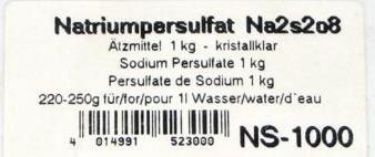 natriumpersulfat