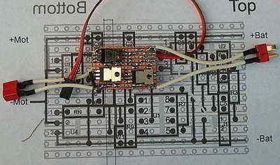 Brushed Motor ESC PIC12F675 PWM - Electronics Projects Circuits