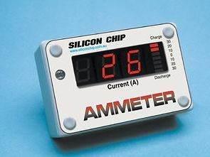 PIC16F84 UGN3503 LM358 ile 0 80A Amper Metre