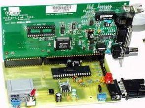 Giao diện web với cổng PIC16F877P Com Ethernet 3com eHerLink
