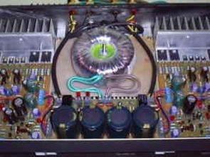 40W Sinüs Çıkışlı Mosfet Amplifikatör