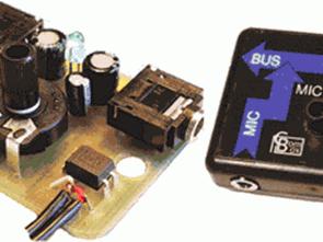 TL072 0p-Amp ile Mini Combox